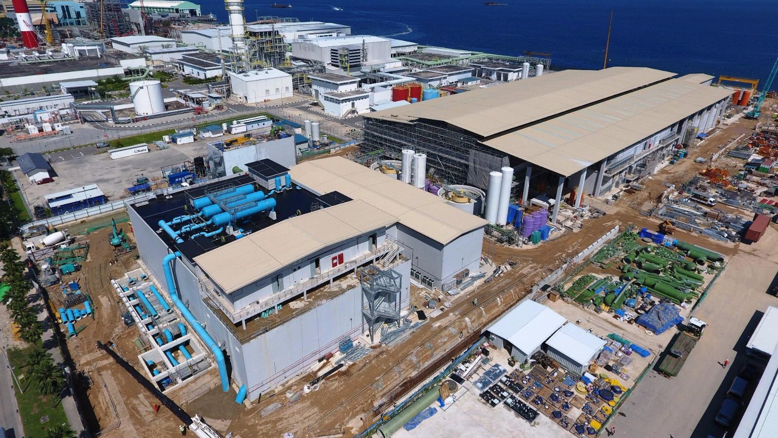 Tuas Desalination Plant 3 Civil Package - 2016