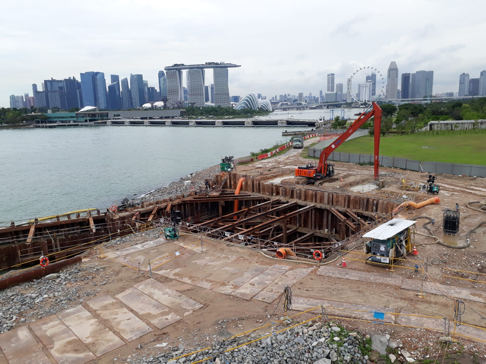 Marina East Desalination Plant Offshore - 2017