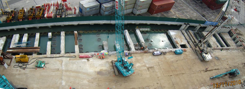 2010 MCE - 481 Seawall Piling & Pre-Bore Works
