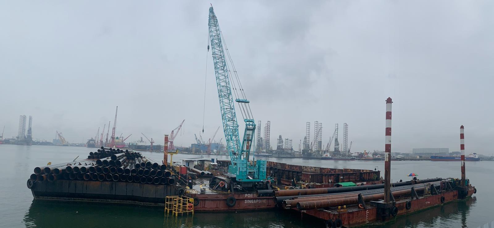 Sulfur Handling Pier  - 2019