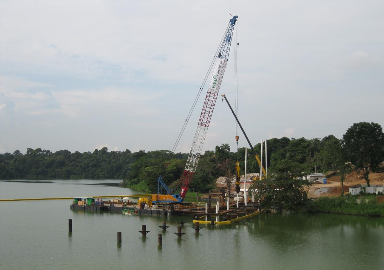 2011 Mandai Zoo Bridge Piling & Decking Works