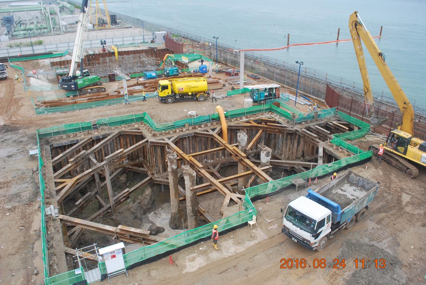 2016 Tuas Desalination Plant 3 Offshore Intake ERSS Size(45*16*9m)