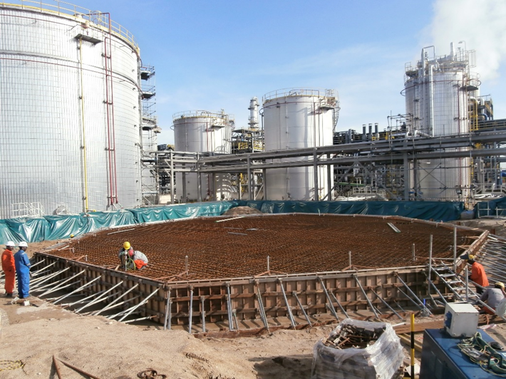 CCD Tank Foundation Works 2014