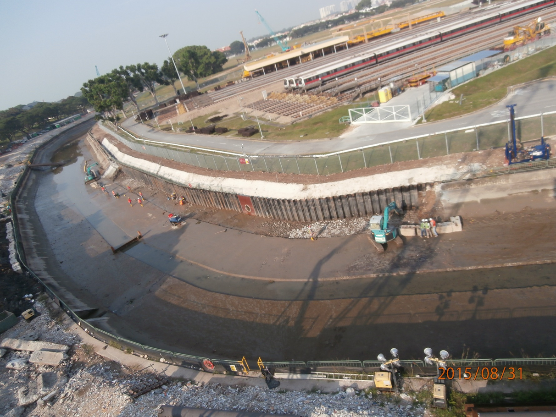 2015 LTA T3009 Sungei Ketapang Steel Decking Project