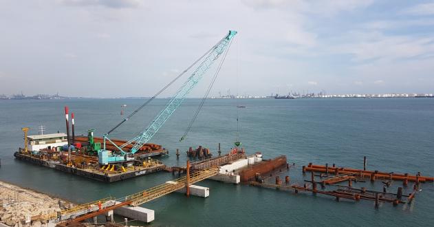 PCS - Naphtha Import Facilities Project Berth 6 - 2016