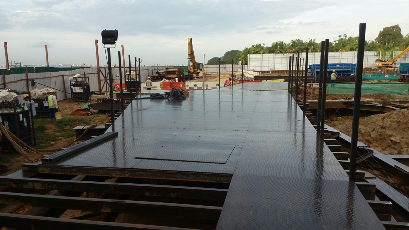 2016 Bedok Canal Improvement Contract 1 PCN – Decking Work