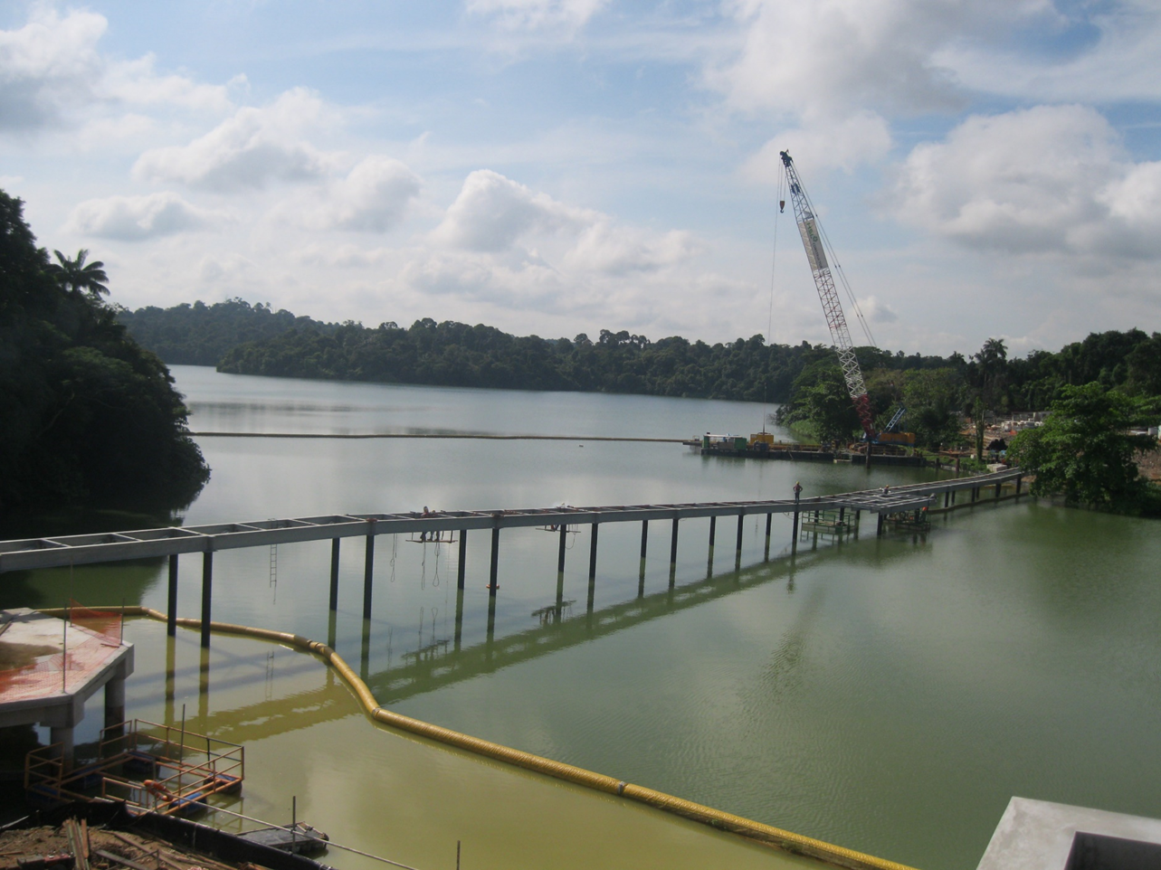 2011 Mandai Zoo Bridge Project - Piling & Decking Works