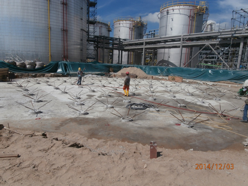 2014 CCD Tank Foundation (D20m Chemical Storage Tank with 98 spun pile Support)