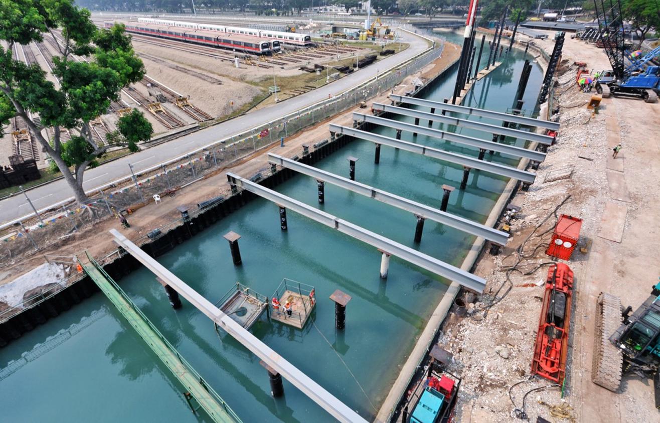 2015 LTA T3009 Sungei Ketapang Decking Project, Piling & Decking Works