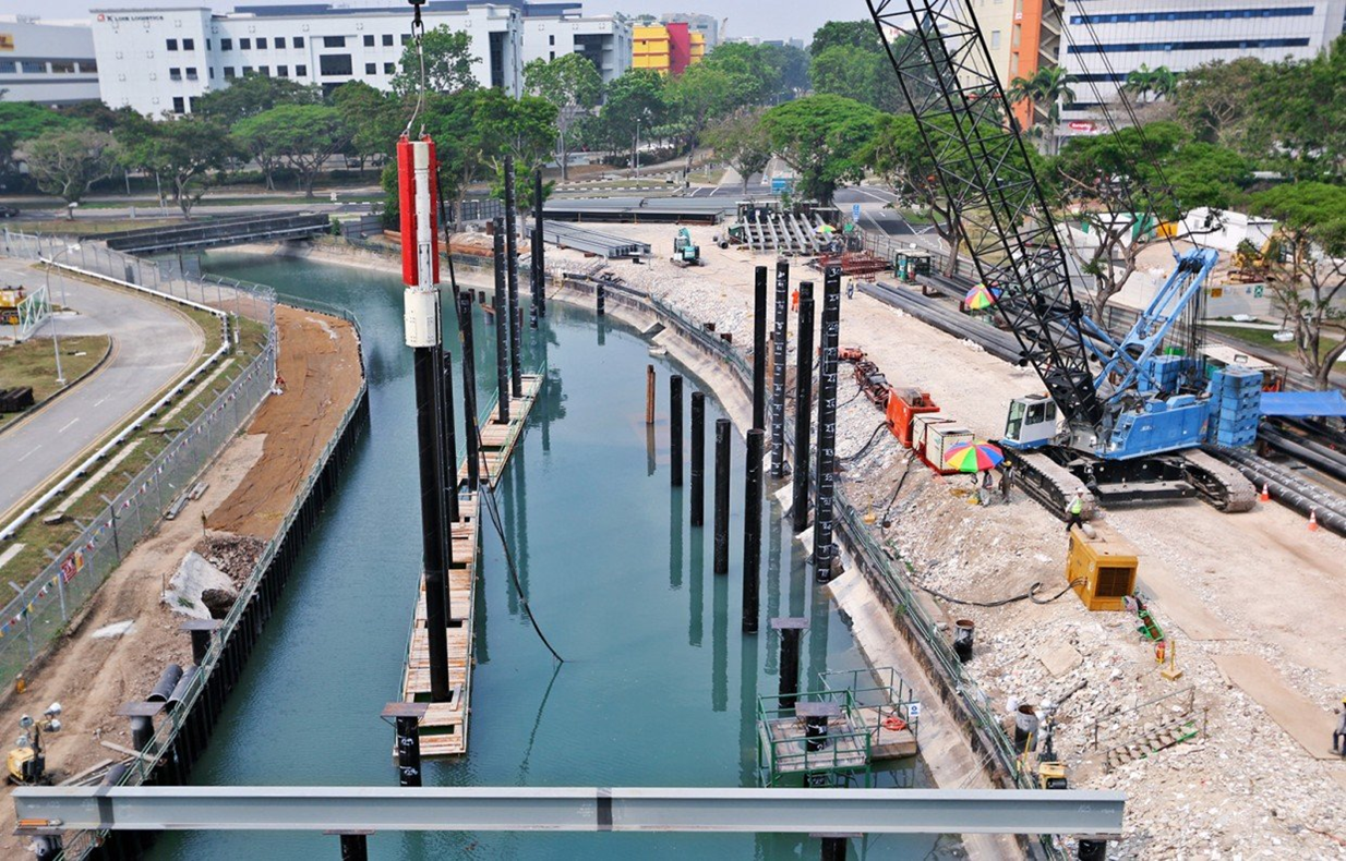 2015 LTA T3009 Sungei Ketapang Decking Project, Piling & Decking Works