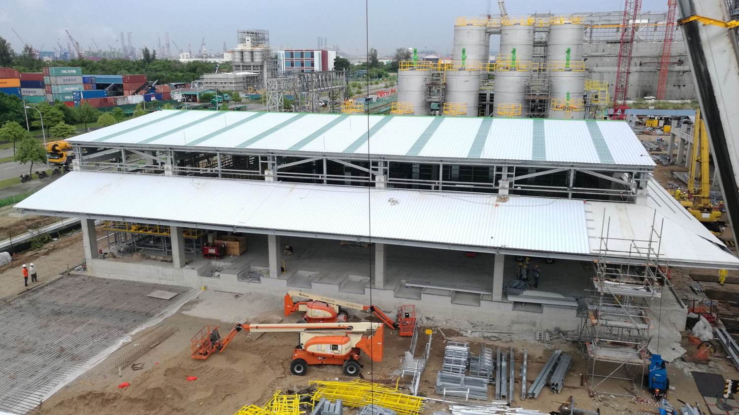 2016 - 2017 CCD Phase II Construction Works of Packing Warehouse