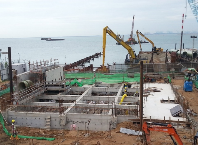 2016 Tuas Desalination Plant 3 Civil Package For Outfall Building