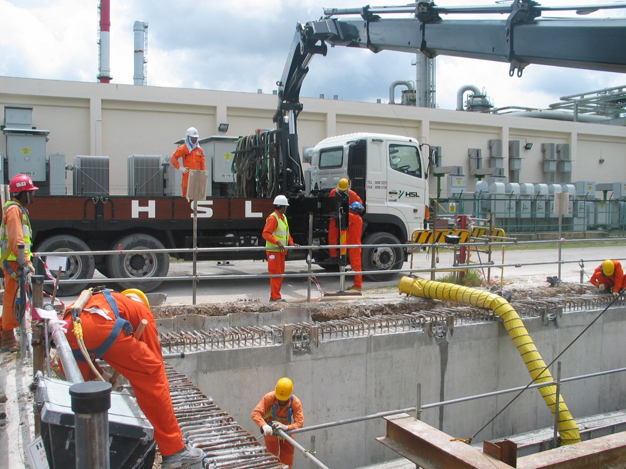 2007-2008 PCS Phase III Project – Neutralization Pit Construction, Size: 20m*20m*6m