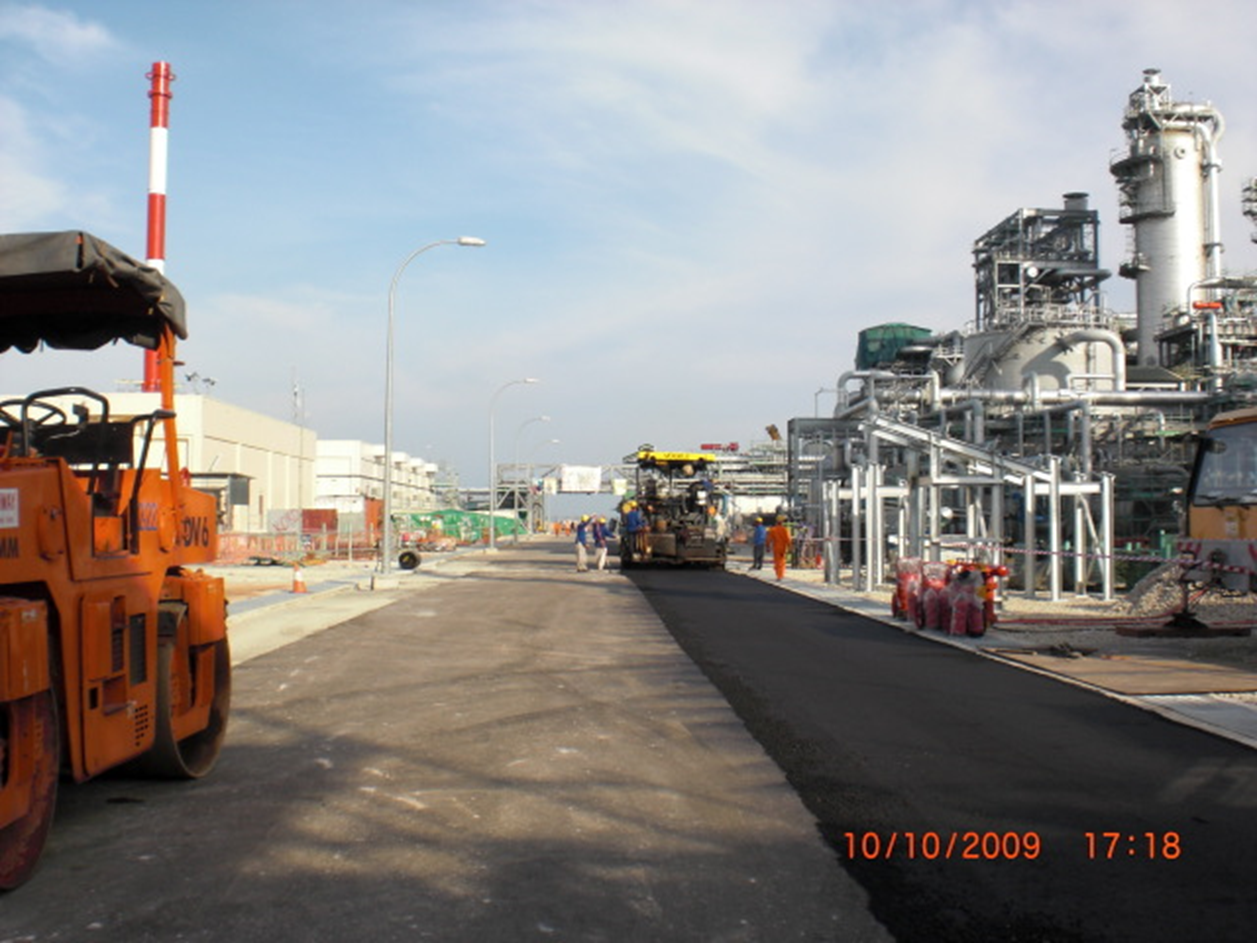 2009 SHELL MEG Project – Road Works