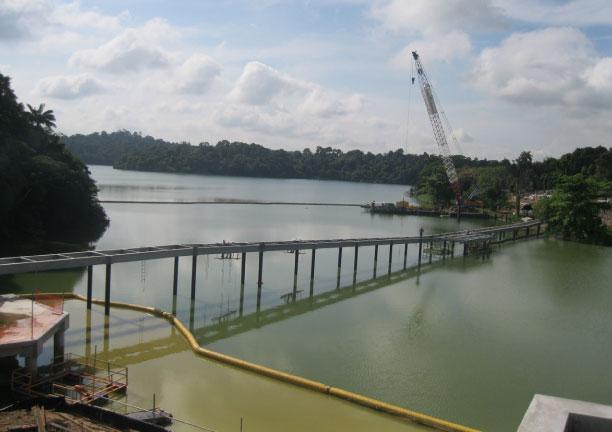 Mandai Zoo River Safari Bridge - 2011