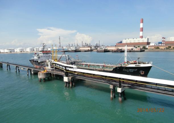 YTL Power Seraya Jetty Upgrade - 2013